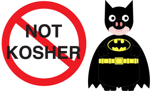batman not kosher Learn About Passover Through Comics