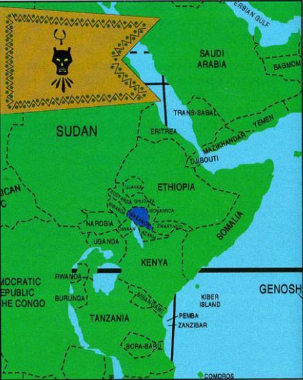 wakanda map The Spirit of Wakanda is the Spirit of Israel