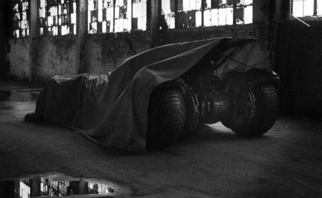 BATMAN VS. SUPERMAN Batmobile Reveal Coming Soon!