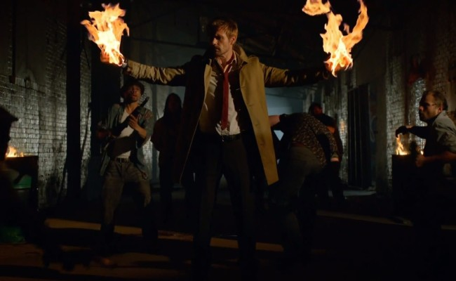 CONSTANTINE Trailer Blazes Its Way Online