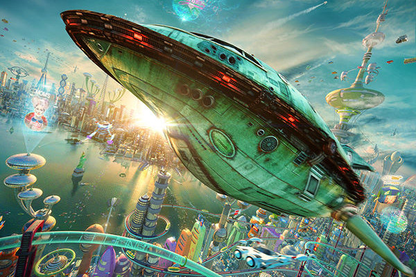 30 Seconds of The 3D Futurama Movie You've Always Wanted