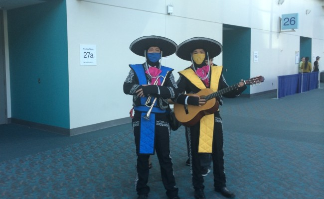 COMIC-CON INTERNATIONAL: The Second Day