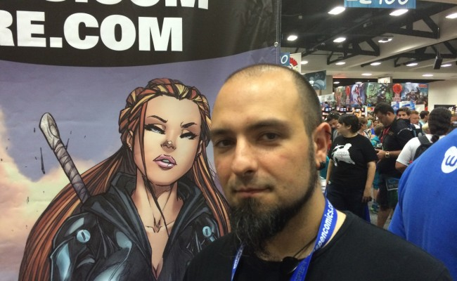 EXCLUSIVE! Giuseppe Cafaro talks ART and ASPEN COMICS