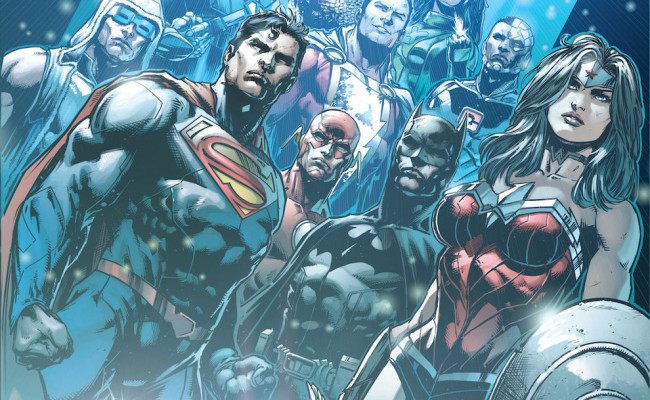 BATMAN ETERNAL Artist Jason Fabok Takes Over On JUSTICE LEAGUE