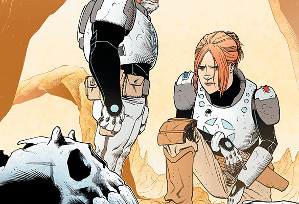 Copperhead #1 Review