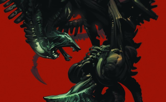 FIRST LOOK! Aliens: Fire and Stone #1
