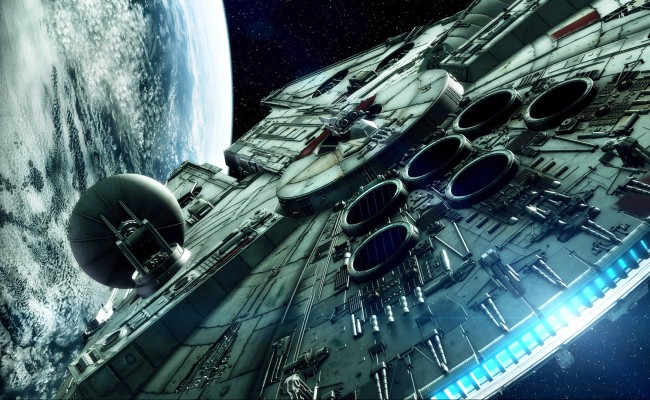 The Millennium Falcon Snags A Stowaway In New STAR WARS EPISODE VII Video