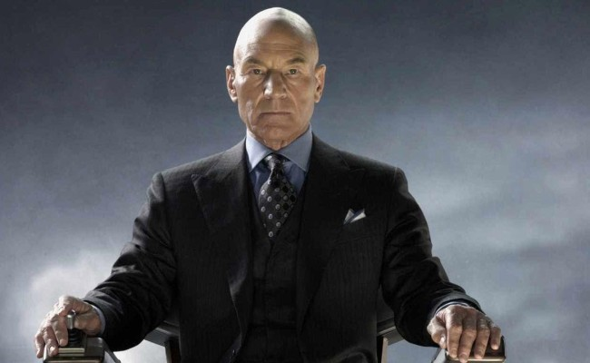 It's Back To Classic Bald Professor X For X-MEN: APOCALYPSE