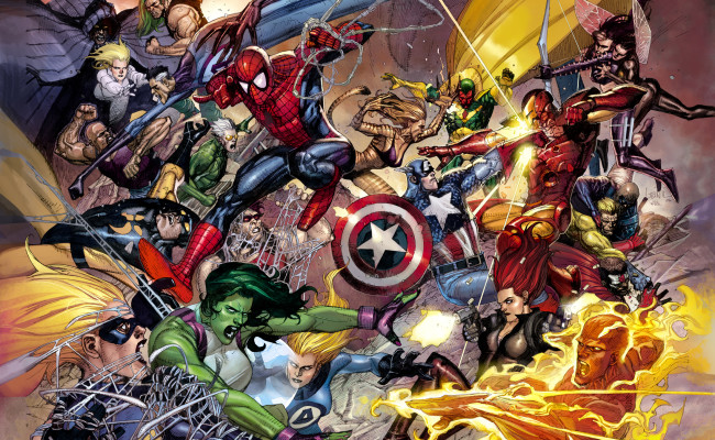 MARVEL Announces SECRET WARS for 2015