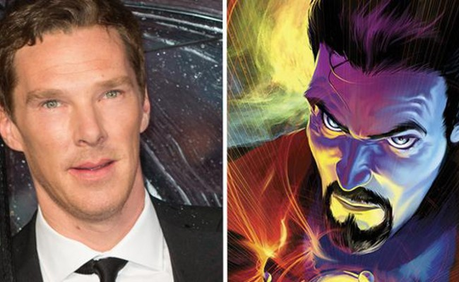 Rejoice CUMBERBITCHES! He will be DOCTOR STANGE!!