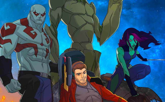 GUARDIANS OF THE GALAXY Gets ANIMATED