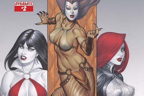 Dawn/Vampirella #2 Review