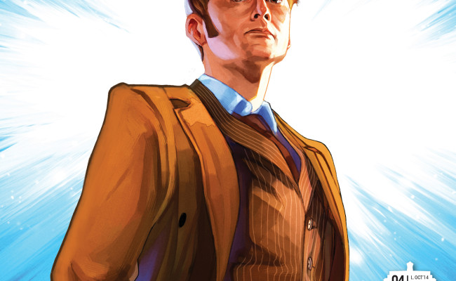 ADVANCE REVIEW! Doctor Who: The Tenth Doctor #4