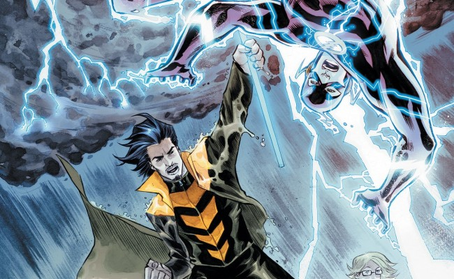 THE FLASH Casts Liam McIntyre as WEATHER WIZARD!