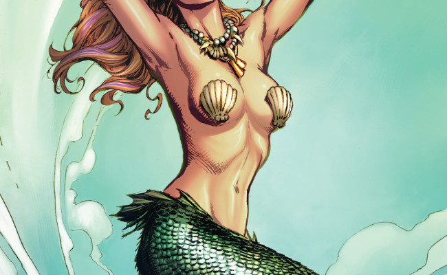 ADVANCE REVIEW! Grimm Fairy Tales presents The Little Mermaid #1