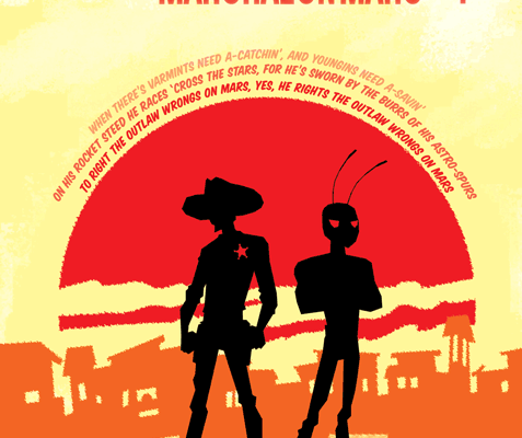 SPARKS NEVADA: MARSHAL ON MARS #1 Review