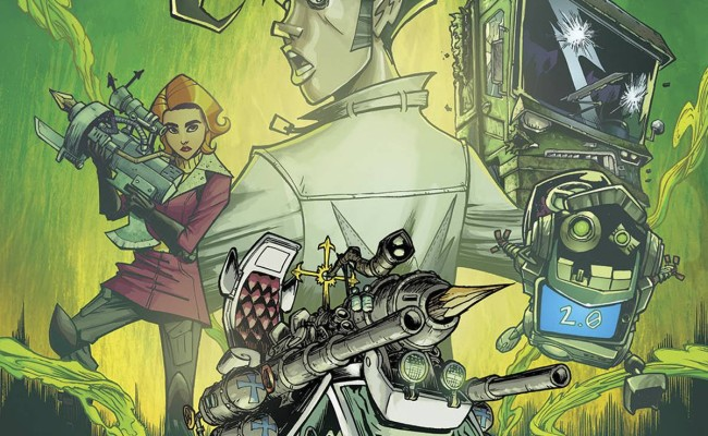 MONSTER MOTORS: CURSE OF MINIVAN HELSING #1 Review