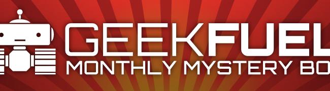 Geek Fuel April 2015 Unboxing