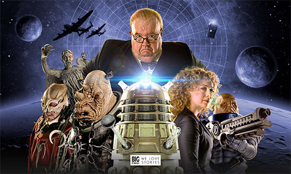 Big Finish Announce River Song & New Monsters Aplenty for New DOCTOR WHO Audios
