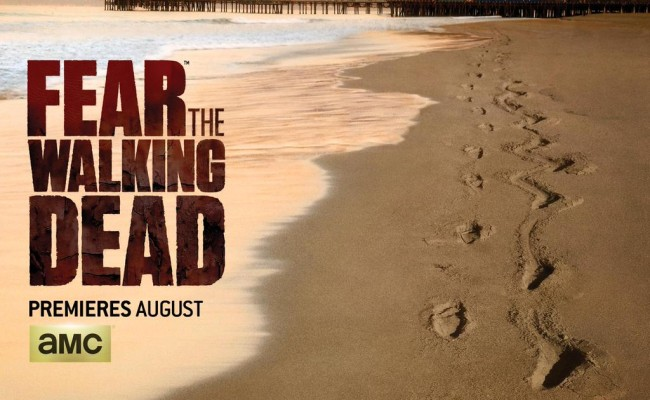 Imaginatively-Titled FEAR THE WALKING DEAD Gets Itself a Poster