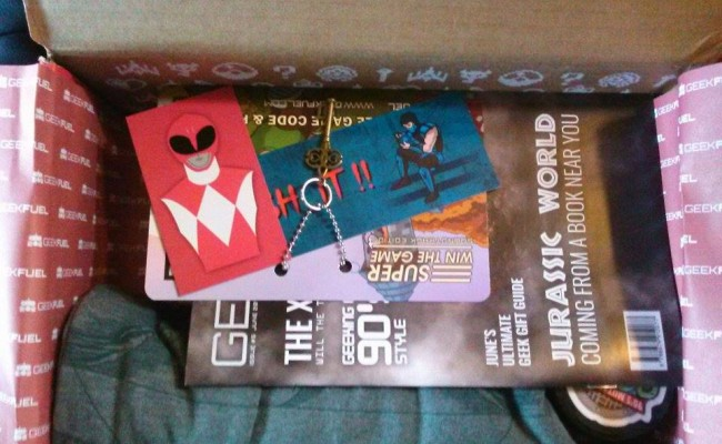 Unboxing June 2015′s Geek Fuel