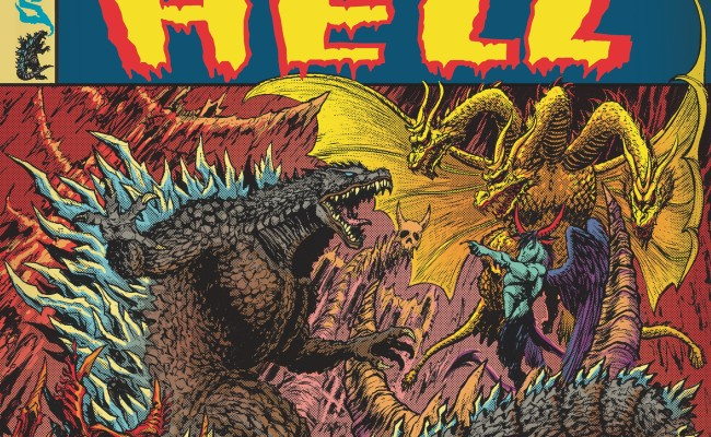 GODZILLA IN HELL #1 Review