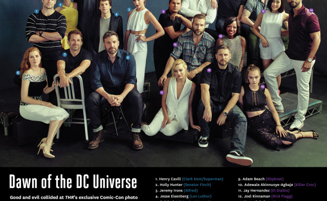 The DC Universe Assembles in Awesome COMIC-CON Pics