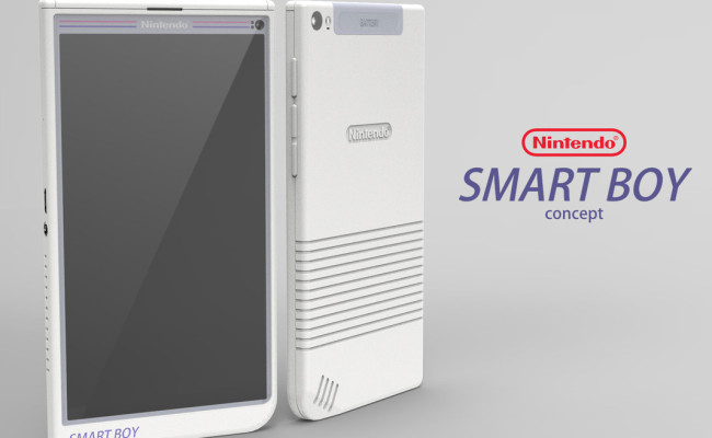 This NINTENDO Smartphone Concept is a Dream Come True