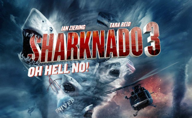 SHARKNADO 4 is Coming!!