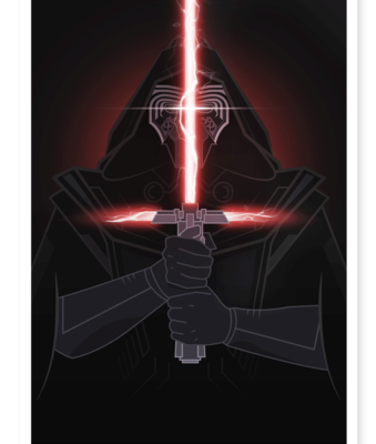 These STAR WARS Villain Prints are Freakin' Dope!